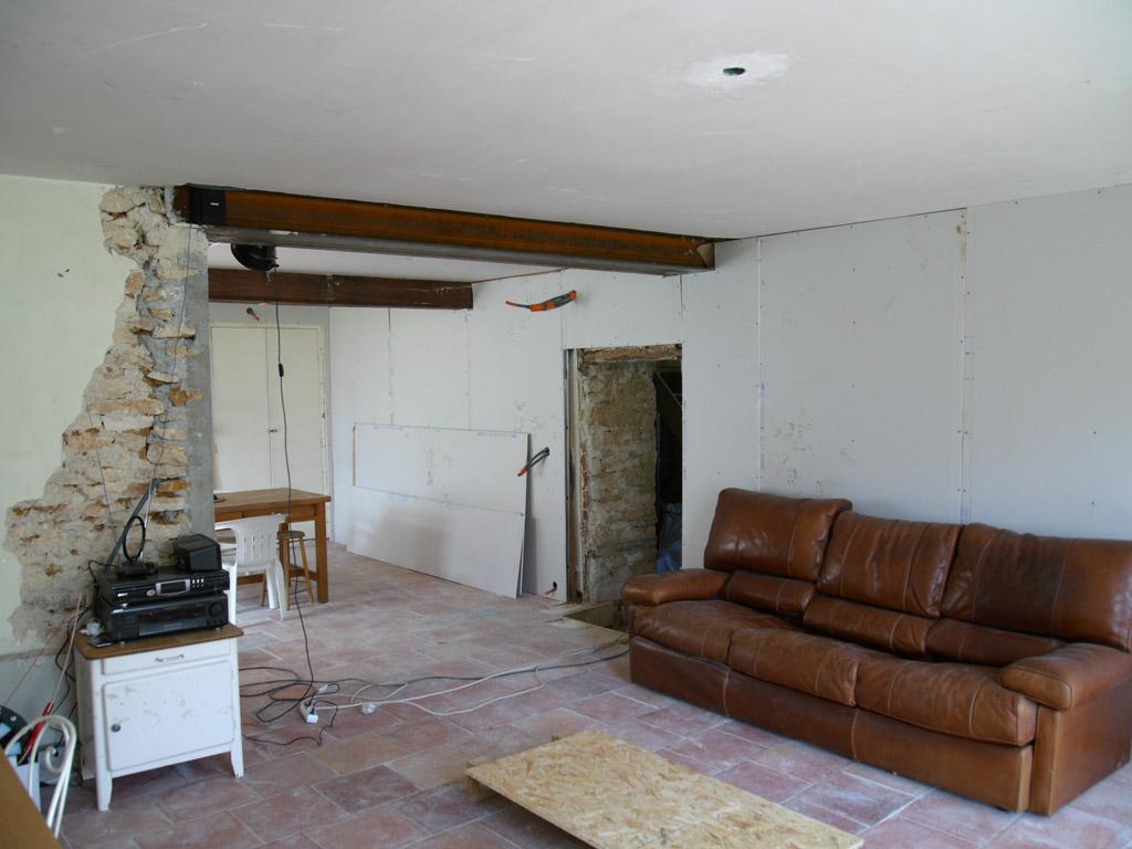 pose du ba13 carnets de chantier. Black Bedroom Furniture Sets. Home Design Ideas
